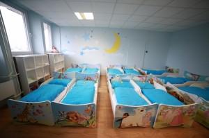 Detské centrum v Banskej Bystrici - spálňa