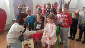 Materská škola Banská Bystrica Jahôdka - Janka s deťmi