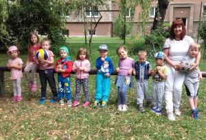 Materská škola v Banskej Bystrici Jana Sitárová - vonku