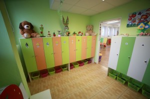 Materská škola v Banskej Bystrici - šatňa