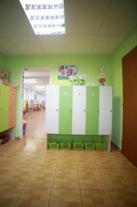 Materská škôlka BB - šatňa