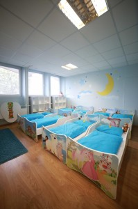 Materská škôlka BB - spálňa
