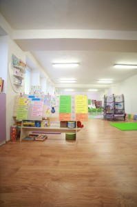 Materská škôlka v Banskej Bystrici - hracia miestnosť