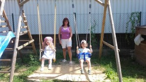Súkromná detská škôlka v Banskej Bystrici - Jahôdka - hojdačka