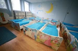 Súkromná škôlka Jahôdka - spálňa