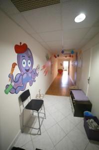 Súkromné detské centrum v Banskej Bystrici - chodba